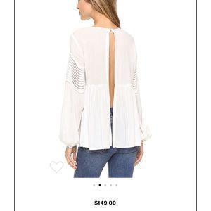 StyleStalker White Ripple Shirt Small